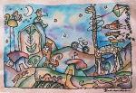 Obras de arte: America : Cuba : Ciego_de_Avila : Ciego_de_Avla : como niños