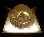 Obras de arte: Europa : España : Murcia : cartagena : Autorretrato con máscara de cerdo