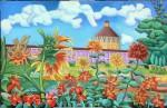 Obras de arte: Europa : España : Madrid : Serranillos_del_Valle : Los Girasoles Rusos