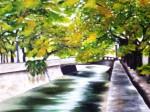 Obras de arte: America : Argentina : Cordoba : Cordoba_ciudad : Ca�ada en Primavera