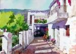 Obras de arte: Europa : España : Andalucía_Almería : Almeria : Calle de Capileira