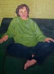 Obras de arte: Europa : España : Castilla_y_León_Burgos : Miranda_de_Ebro : Mujer sentada