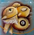 Obras de arte: America : México : Coahuila_de_Zaragoza : Torreón : cargando a la familia