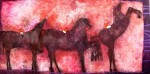 Obras de arte: America : México : Mexico_Distrito-Federal : Coyoacan : TRES JINETES