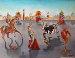 Obras de arte: Europa : España : Catalunya_Barcelona : Barcelona : corrida de carnaval