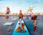 Obras de arte: Europa : España : Catalunya_Barcelona : Barcelona : corrida de carnaval 2
