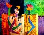 Obras de arte: America : Bolivia : Cochabamba : Cochabamba_ciudad : Invaci�n cibern�tica 4
