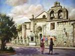Obras de arte: America : Rep_Dominicana : Santiago : vista_de_serro_alto : catedral primada de america