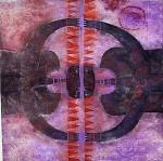 Obras de arte: America : México : Mexico_Distrito-Federal : Coyoacan : doble cara