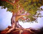 Obras de arte: America : México : Quintana_Roo : cancun : Ceiba: Por Maria Antonieta Barcenas