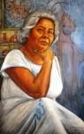 Obras de arte: America : México : Quintana_Roo : cancun : Autoretrato: Por Maria Antonieta Barcenas