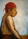 Obras de arte: America : México : Quintana_Roo : cancun : Chamula: Por Maria Antonieta Barcenas