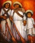Obras de arte: America : México : Quintana_Roo : cancun : Revolucionarios: Maria Antonieta Barcenas