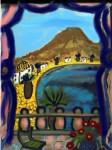 Obras de arte: Europa : España : Valencia : Xativa : el balcon