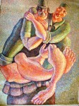 Obras de arte: America : Colombia : Antioquia : Medellin_ciudad : COMBATIENTE