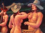 Obras de arte: America : Colombia : Antioquia : Medellin_ciudad : EL BAJO Y EL TAMBOR