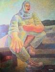 Obras de arte: America : Colombia : Antioquia : Medellin_ciudad : COMBATIENTE HERIDO