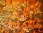 Obras de arte: America : Colombia : Antioquia : Medellin_ciudad : NOCHE DE CALOR