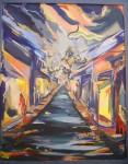 Obras de arte: America : Argentina : Mendoza : godoy_cruz : CALLECITA PORTEÑA.
