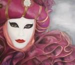Obras de arte: America : México : Jalisco : Guadalajara : Mascara Veneciana