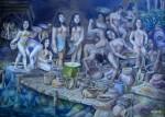 Obras de arte: America : Colombia : Antioquia : Medellin_ciudad : AGUABAJO