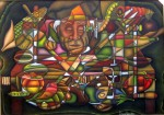 Obras de arte: America : Colombia : Santander_colombia : Bucaramanga : Bodegon  con hortalizas