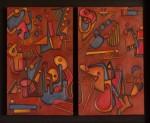 Obras de arte: America : Uruguay : Canelones : Parque_de_Carrasco : Jeroglífico en relieve III