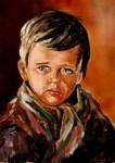 Obras de arte: Europa : Bielorrusia : Vitsyebsk : Artistas : Portrait of a crying boy.