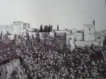 Obras de arte: Europa : España : Andalucía_Granada : churriana : La Alhambra vista desde el Generalife