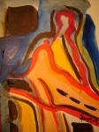 Obras de arte: America : Colombia : Risaralda : Pereira_ciudad : Abtraccion para un cuerpo en linea suelta
