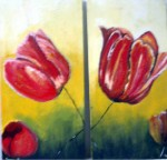 Obras de arte: Europa : España : Catalunya_Tarragona : Valls : tulipes