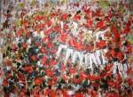 Obras de arte: Europa : España : Catalunya_Tarragona : Banyeres_Penedes : Torre humana