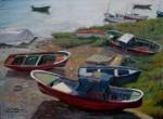 Obras de arte: Europa : España : Euskadi_Bizkaia : Bilbao : Barcas varadas