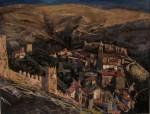 Obras de arte: Europa : España : Euskadi_Bizkaia : Bilbao : Ultimas luces-Albarracín