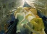 Obras de arte: Europa : España : Catalunya_Barcelona : Barcelona_ciudad : paseo en gondola