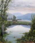 Obras de arte: Europa : España : Catalunya_Girona : La_vall_de_Bas : Lago