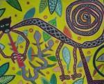 Obras de arte: America : Perú : Cusco : cusco_ciudad : el flautista