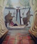 Obras de arte: America : Colombia : Distrito_Capital_de-Bogota : Bogota_ciudad : Navegando un sueño