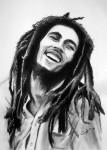 Obras de arte: America : Argentina : Buenos_Aires : Capital_Federal : Bob Marley en tiza