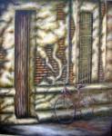 Obras de arte: America : Argentina : Buenos_Aires : San_Andres_de_Giles : Siesta en el pueblo