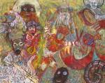 Obras de arte: America : Perú : Lima : chosica : IDOLOS DE PIEDRA