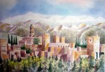 Obras de arte: Europa : España : Andalucía_Málaga : Málaga : LA ALHAMBRA DE GRANADA