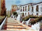 Obras de arte: Europa : España : Andalucía_Málaga : Málaga : FINAL DE LA CORACHA (MALAGA)