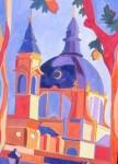 Obras de arte: Europa : España : Madrid : Boadilla_del_Monte : Cupula de La Almudena