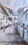 Obras de arte: Europa : España : Andalucía_Málaga : Málaga : CALLE DE MIJAS (MALAGA)