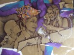 Obras de arte: America : El_Salvador : San_Salvador : San_Salvador_capital : entre el shhh y el guiri guiri hay un caracol