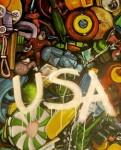 Obras de arte: America : El_Salvador : San_Salvador : San_Salvador_capital : FELICIDAD RECICLADA( Renacho melgar)