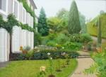 Obras de arte: Europa : España : Catalunya_Barcelona : Sabadell : Jardines en Carcassonne