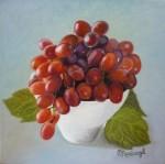 Obras de arte: Europa : España : Catalunya_Barcelona : Sabadell : Cuenco con uvas