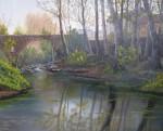 Obras de arte: Europa : España : Catalunya_Girona : La_vall_de_Bas : Puente de st Roc